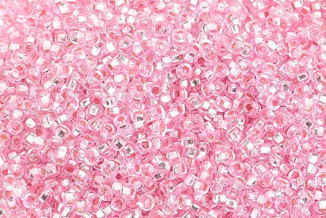 0001397 10/0 Dy Pink Silverlined