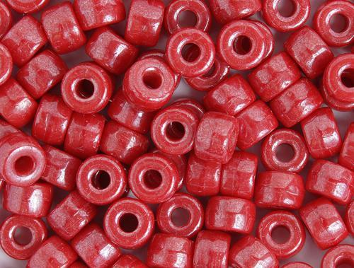 0278768 Glass Cb Red Luster 9mm