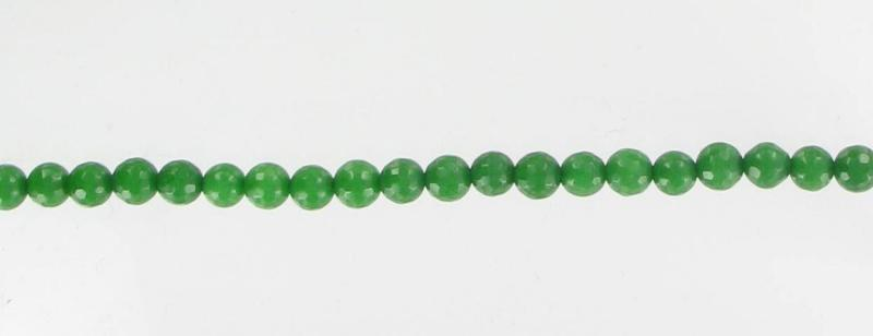 10060721 Agate, Green (D) 6mm Fac.
