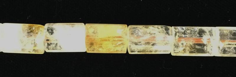 1106250 Citrine 12x16mm Faceted Tube