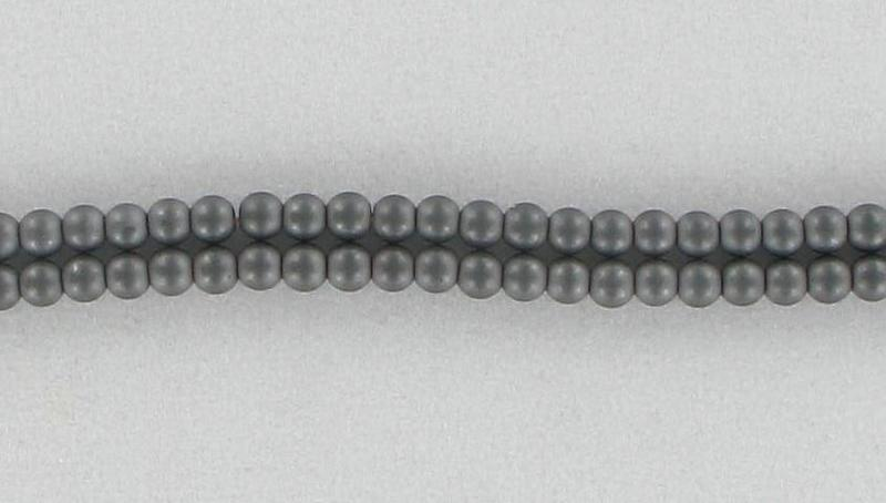 11910041 Magnetic Hematite 4mm, Matte