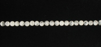 1195004 White Howlite 4mm