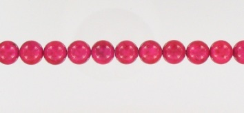 1851008 Hot Pink Fossil 8mm