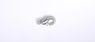 3012511 Wht Metal Lobster Clasp 11mm