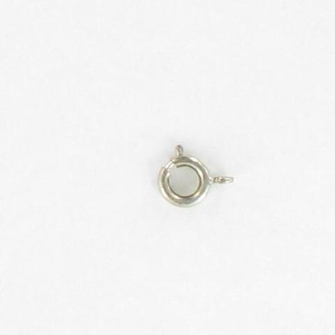 3012607 Wht Metal Spring Ring 7mm