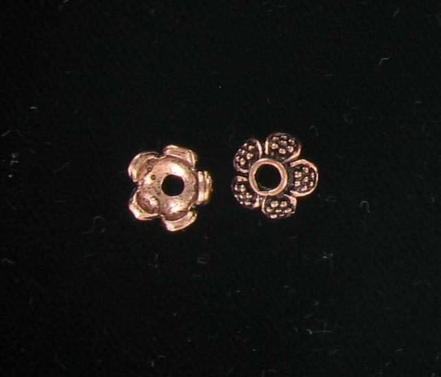 3025609 Copper 9mm Bead Cap