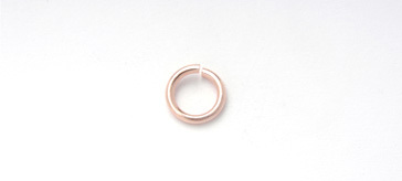 3026008 Copper 8mm Jump Ring Round