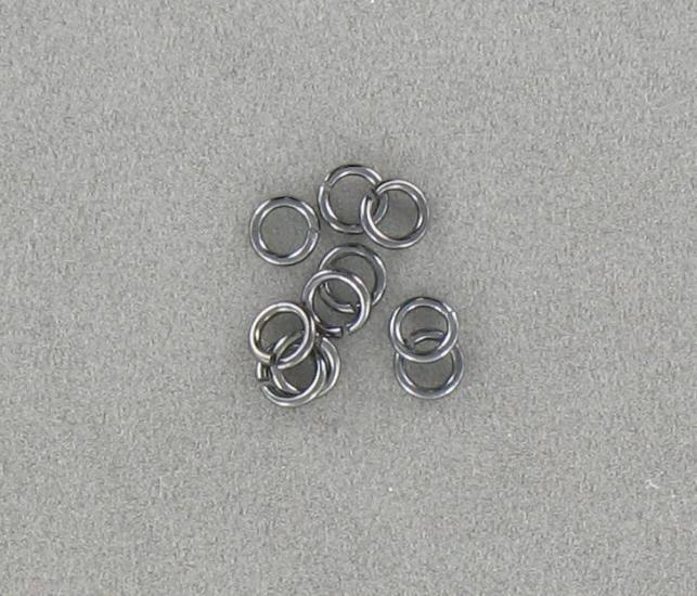 3056005 Gunmetal Jump Ring 5mm