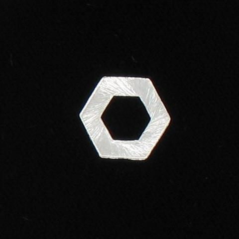 3070279 Sp Brass Hexagon 15x1mm