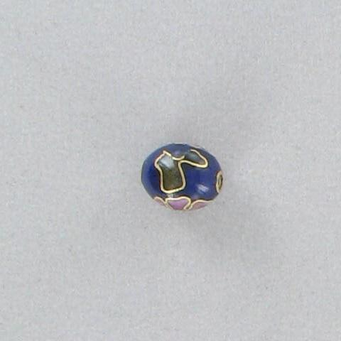 3090116 Cloisonne 9x10mm Oval