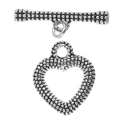 3092106 As Clasp Heart Toggle