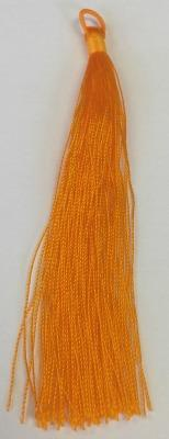 500725 Tassel With Loop - Orange