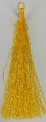 500726 Tassel With Loop - Yellow