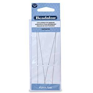 510004 Collapsible Eye Needles 4pk
