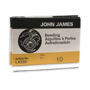 510120 #10 English Beading Needles 25/Pkg