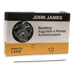 510122 #12 English Beading Needles 25/Pkg