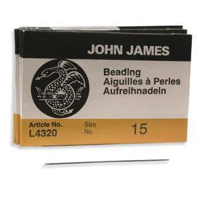 510125 #15 English Beading Needles 25/Pkg