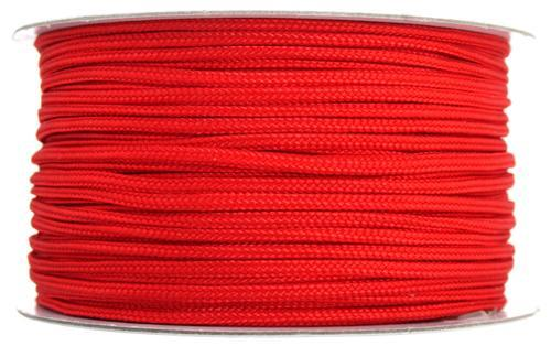 5200112 Lovely Knots 2mm Red/Yd