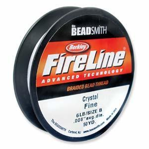 520082 Fireline 6lb, 50 Yards, Crystal