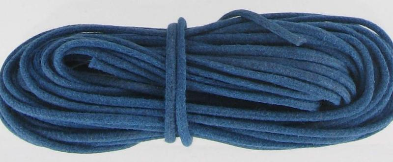 520113 Waxed Cord 2mm Blue, 144 Yards
