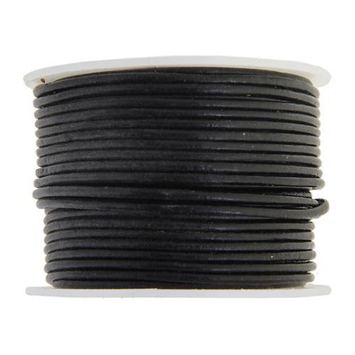 530200 Indian Leather 1.5mm Black