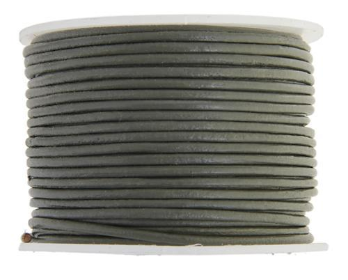 530205 Indian Leather 1.5mm Grey