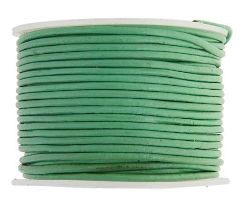 530209 Indian Leather 1.5mm Kelly Green