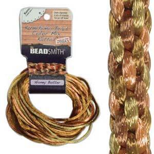 5400050 Rattail 1mm Honey Butter 12yds