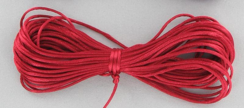 540083 Rattail 1mm Red 10yds