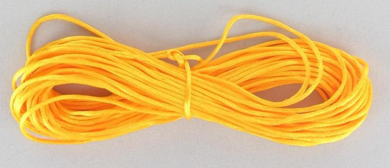 540086 Rattail 1mm Yellow 10yds