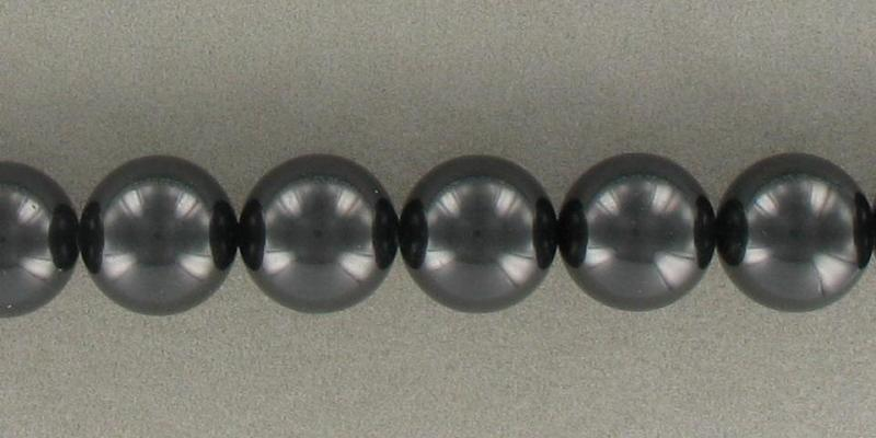6001016 Black South Sea Shell 16mm