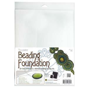 "910033 Beading Foundation 8.5X11"" White"